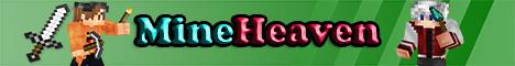 Banner for MineHeavenPE Network Minecraft server