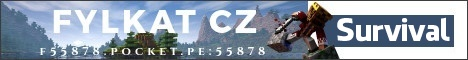 Banner for FylkatCZ - MCPE Minecraft server