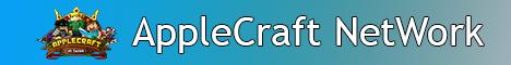Banner for AppleCraft NETWORK Minecraft server