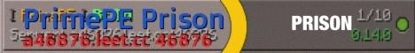 Banner for PrimePE Prison Minecraft server