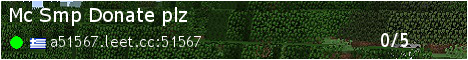 Banner for Mc Smp Donate plz Minecraft server