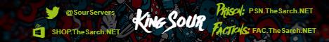 Banner for Sarchonical Prison (SourPrison) Minecraft server