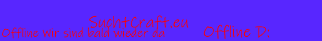 Banner for SuchtCraft Minecraft server