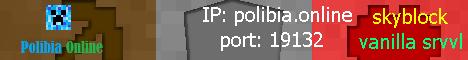 Banner for Polibia Online Minecraft server