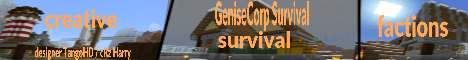 Banner for Genesis Survival [SEMI-PRIVATE] Minecraft server