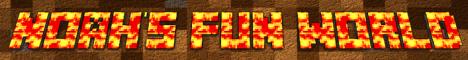 Banner for Noahs Fun World Minecraft server