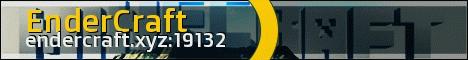 Banner for EnderCraft.xyz Factions Minecraft server