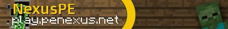 Banner for NexusPE Minecraft server
