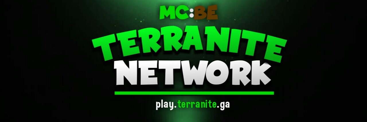 Banner for TerraniteBE Minecraft server