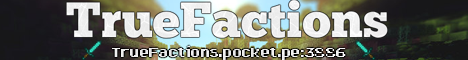 Banner for TrueFactions Minecraft server