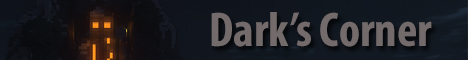 Banner for Dark's Corner Minecraft server