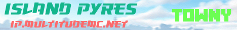 Banner for Island Pyres Minecraft server