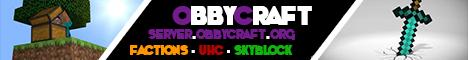 Banner for ObbyCraft Minecraft server