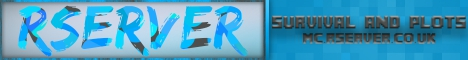 Banner for RServer | Chat | Survival, Plots, Brutal Survival | 1.15-16 server
