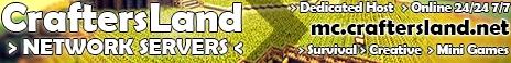 Banner for Craftersland Minecraft server