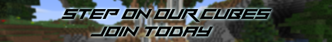 Banner for Step On Our Cubes! server