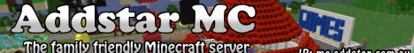 Banner for AddStar Minecraft server