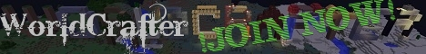 Banner for ♛WorldCrafter♛ [Towny][Survival][Economy]{ranks} Minecraft server