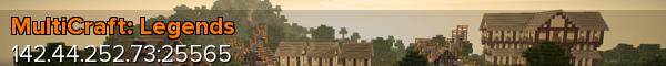 Banner for MultiCraft: Legends server