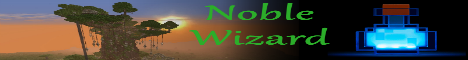 Banner for Noble Wizards Minecraft server