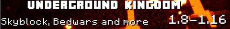 Banner for Underground Kingdom server