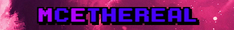 Banner for EtherealMC server