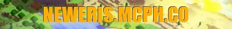 Banner for New Eris Minecraft server