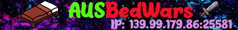 Banner for AUSBedWars server