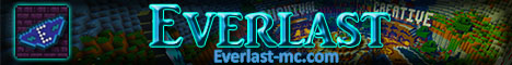 Banner for Everlast Minecraft server