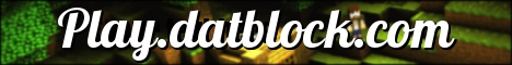Banner for Datblock Minecraft server