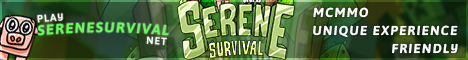Banner for Serene Survival server
