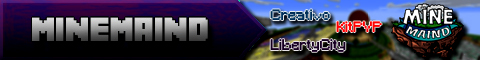 Banner for Minemaind Minecraft server