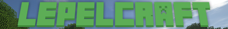 Banner for lepelcraft - fun for everyone! Minecraft server