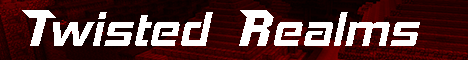 Banner for Twisted Realms Minecraft server