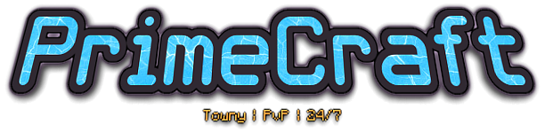 Banner for PrimeCraft server