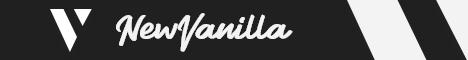 Banner for NewVanilla Minecraft server