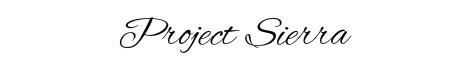 Banner for Project Sierra Minecraft server