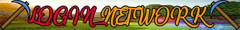 Banner for LoginNetwork server