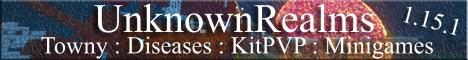 Banner for UnknownRealms server