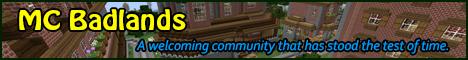 Banner for MCBadlands Minecraft server