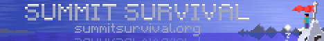 Banner for Summit Survival server