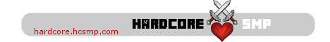 Banner for hardcoreSMP Minecraft server