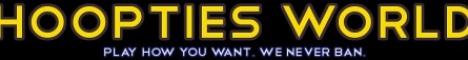 Banner for Hooptiesworld server