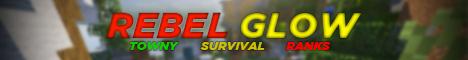 Banner for RebelGlow - Towny - Survival - Ranks server