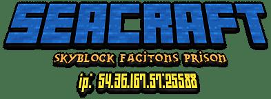 Banner for SeaCraft server