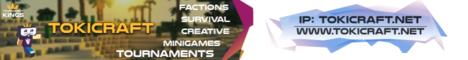 Banner for TokiCraft server
