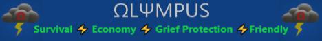 Banner for Olympus server