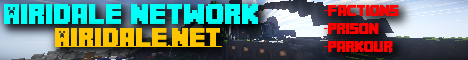 Banner for Airidale Network server