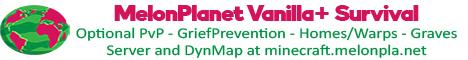 Banner for MelonPlanet Minecraft server