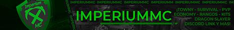 Banner for ImperiumMC server